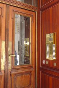 建筑的入口