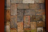 砌砖墙背景