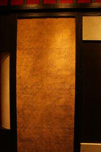 纹理背景墙