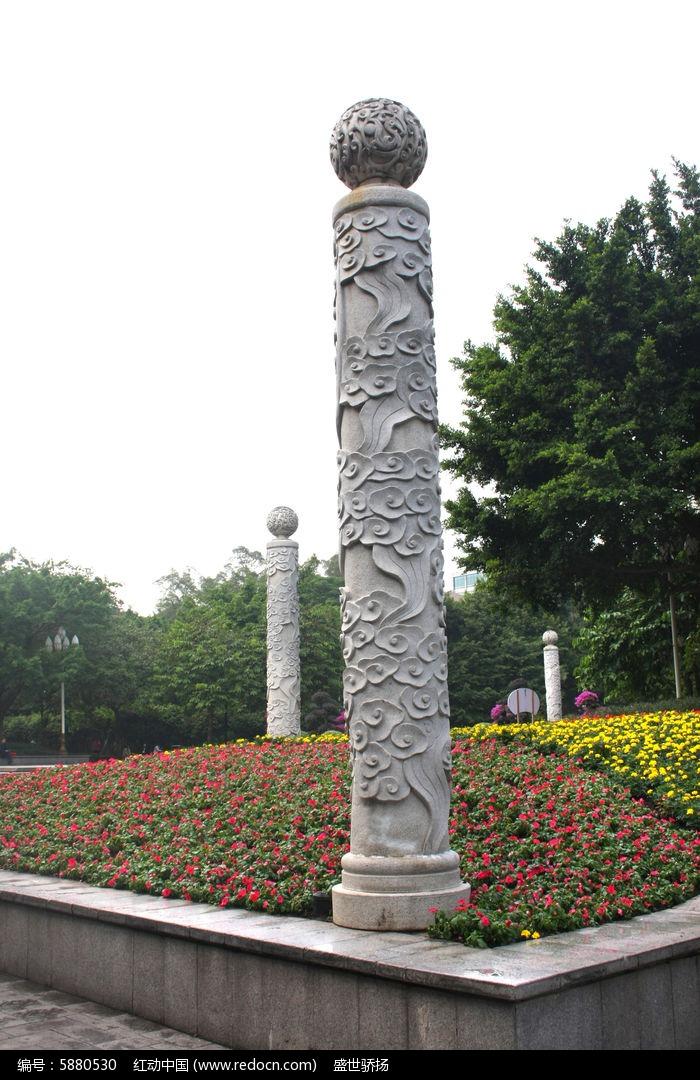 龙纹柱子高清图片下载(编号5880530)_红动网