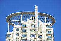 高层住宅顶部圆形建筑