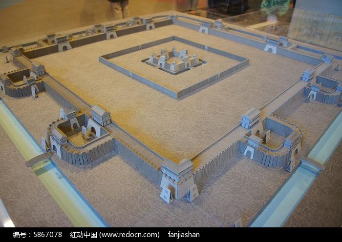 古代城池_古代场景城池¥场景建筑模型区CG模型网