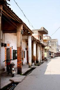 农村古老建筑