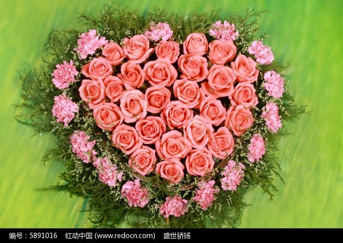百合 玫瑰花束