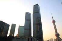 上海东方明珠和国际金融中心大厦
