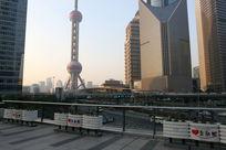 上海东方明珠街景