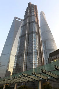 上海三大高楼街景