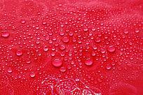 红色水珠背景