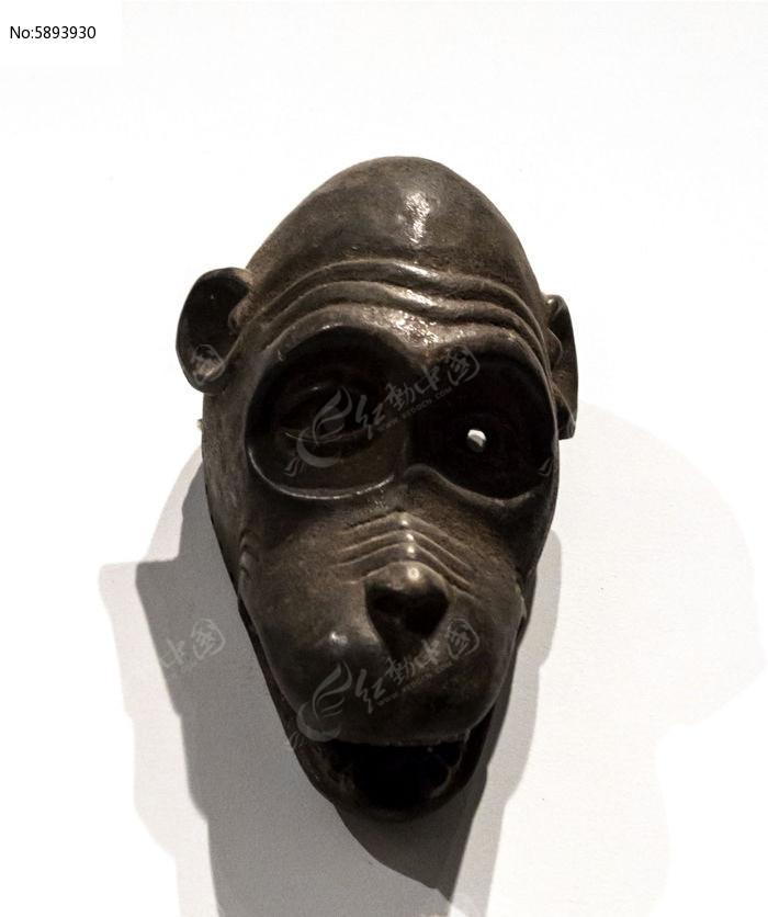 猴脸凹眼面具