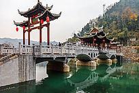 湘西凤凰古镇的枫桥