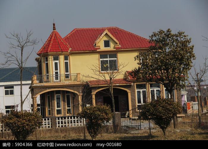 动画乡间图片别墅我想家了红色表情图片