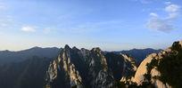 西岳华山山顶风光照片图片