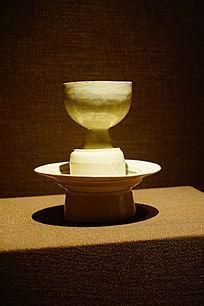 白釉酒杯陶瓷
