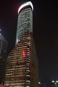 上海外滩中银大厦夜景