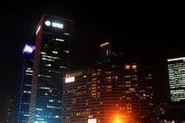 上海正大百货大厦夜景