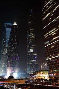 上海最高楼夜景