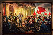 油画作品八一南昌起义