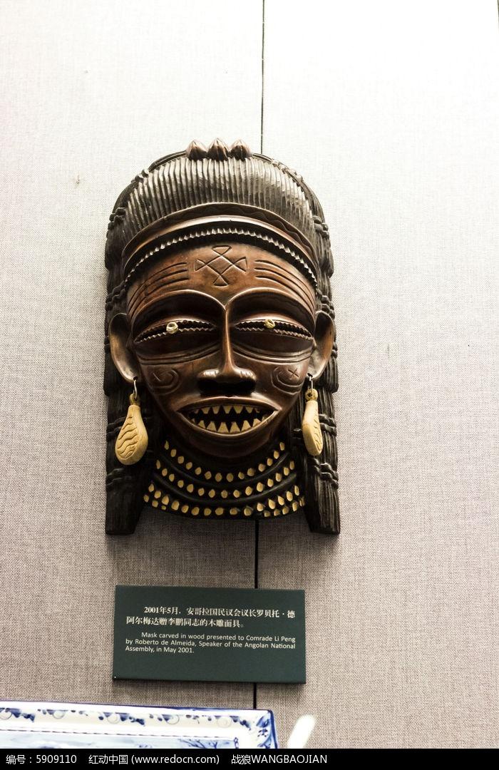 木雕面具图片,高清大图