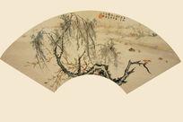 树木风景国画