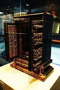 潮汕小神龛箱子