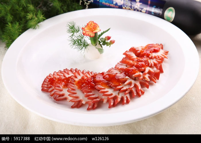 一品墨鱼花图片,高清大图_中国菜系素材