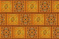 花卉图案陶瓷砖