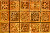 图案花纹墙砖