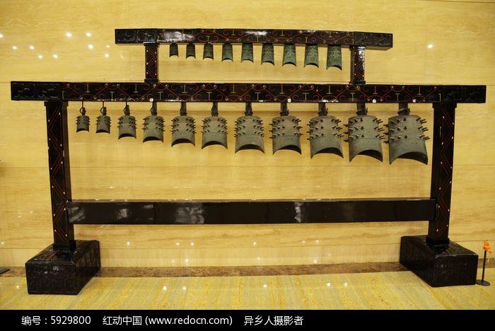 仿汉代青铜编钟乐器图片,高清大图_文物古董素材