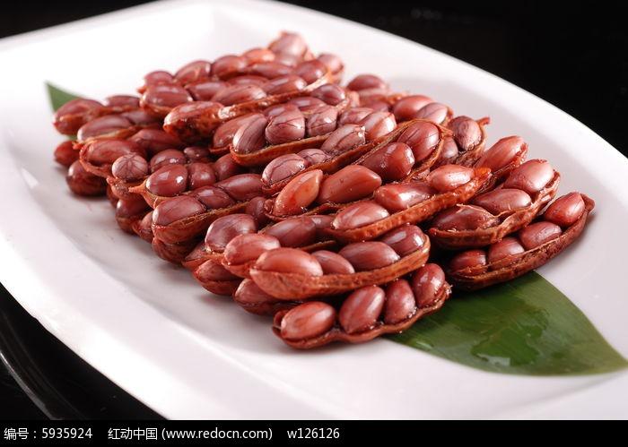 酱汁花生豆图片,高清大图_中国菜系素材