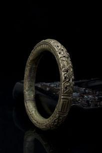 高清藏银手镯素材图