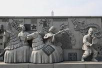 九江非物质文化遗产人物雕像