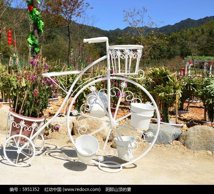 欧式浪漫婚庆装饰用花车图片