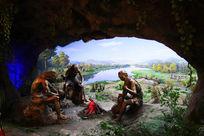 仙人洞遗址远古人类生活场景