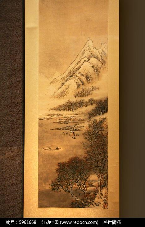 古代长幅山水画