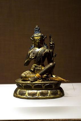 铜?#24179;?#34394;空藏菩萨像