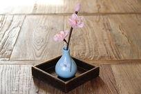 日式风格插花装饰瓶