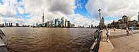 上海外滩与陆家嘴高层建筑