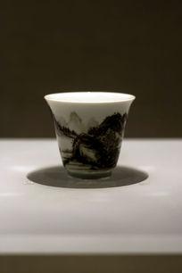 水墨山水瓷杯