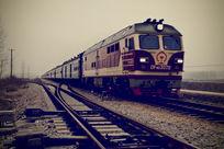 行驶中的火车
