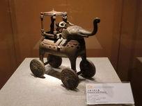 印度文物大象与骑士像