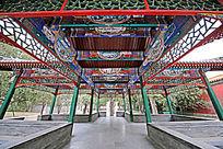 中山公园 回廊彩绘