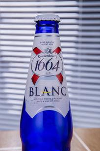 1664啤酒特写