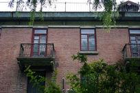 陈旧的校园教学楼