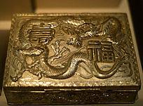 镀金金易首饰礼盒