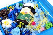 父母节蜂蜜礼盒包装