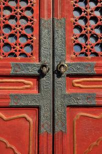 故宫建筑门上装饰