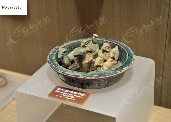 河南洛阳出土的汉代骑人绿釉陶羊圈表情图片包搞笑马特杀图片