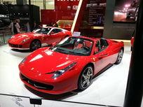 红色法拉利跑车