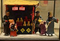 老北京风情卖花炮
