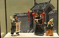 老北京风情请财神